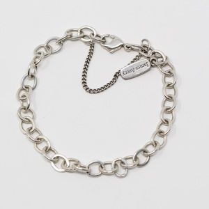 JAMES AVERY Sterling Forged Link Charm Bracelet 7